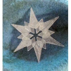 Large glass star